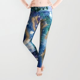 Golden Jellyfish Leggings