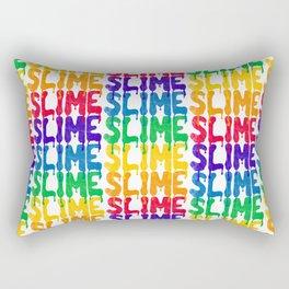 Rainbow SLIME Rectangular Pillow