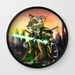Gerbil Jedi Wall Clock