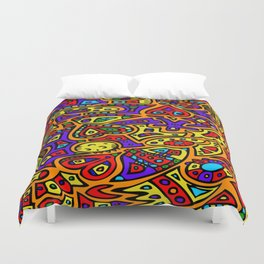 Abstract #416 Duvet Cover