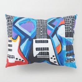 Guitar Trio Pillow Sham