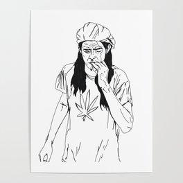 slater-san Poster