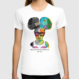 Girl with Afro Puffs T-shirt