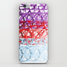 Bicycles palette iPhone Skin