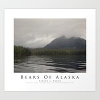 Bears Of Alaska Art Print