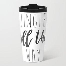 Jingle Bells | Holiday Minimalism Travel Mug