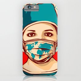 Shepard Fairey Global Forefront iPhone Case