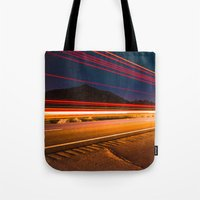 backpack Tote Bags featuring South of Phoenix by Shaun Terhune