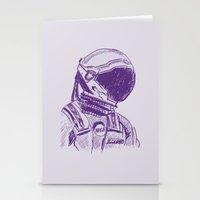 interstellar Stationery Cards featuring interstellar  by Osman SARGIN