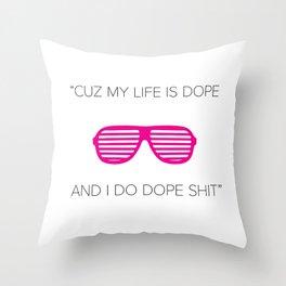 Mr. West Throw Pillow