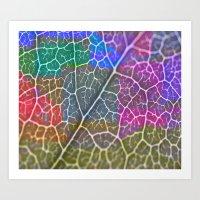 leaf Art Prints featuring Leaf  by Latidra Washington