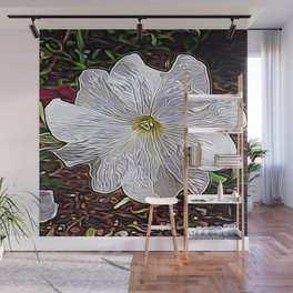 Enchanted Flower Wall Mural