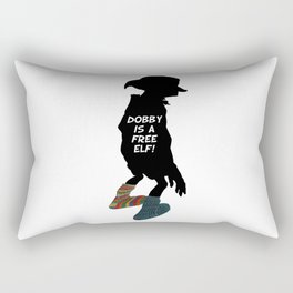 Dobby is a free elf!  Rectangular Pillow