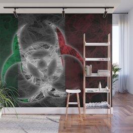 Biohazard Italy, Biohazard from Italy, Italy Quarantine Wall Mural