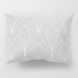 Art Deco on Grey Pillow Sham