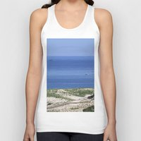 cape cod Tank Tops featuring Cape Cod by Heidi Ingram