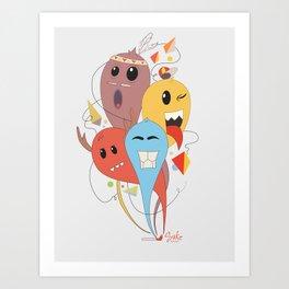 El trio Art Print