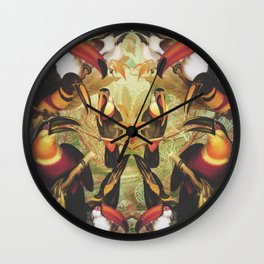 Tucans Wall Clock