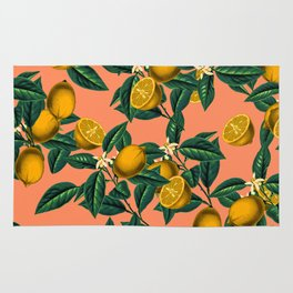 Lemon and Leaf Rug