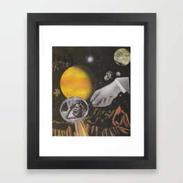 Spacey Mind Tricks Framed Art Print
