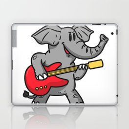 Guitar elephant Laptop & iPad Skin