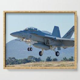 RAAF FA-18 Hornet Serving Tray