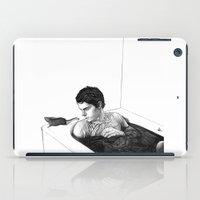 ahs iPad Cases featuring EVAN PETERS by zinakorotkova