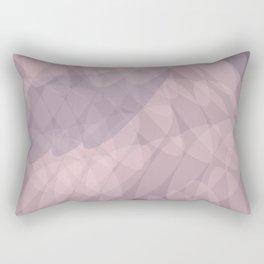 Blush Purple and Blue III Rectangular Pillow