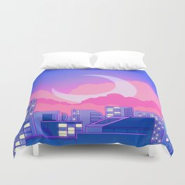 Dreamy Moon Nights Duvet Cover