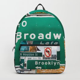 New York City Streets Backpack