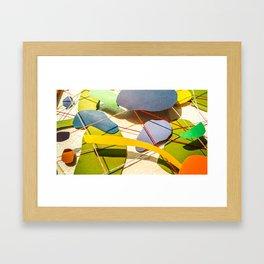 Blobby Blob 2 Framed Art Print