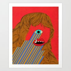 Smith Eyed Art Print