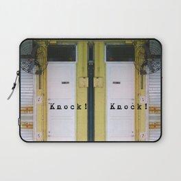 KNOCK KNOCK Laptop Sleeve