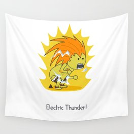 Electric Thunder! Wall Tapestry