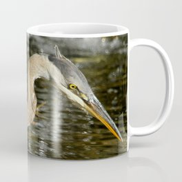 Stalking the pond Coffee Mug