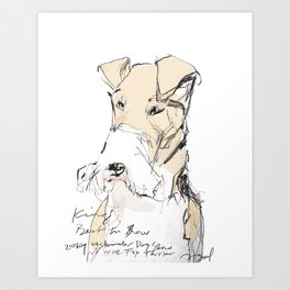 OPD King Best In Show Art Print