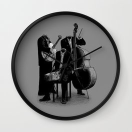 The Invisibles (On Grey) Wall Clock