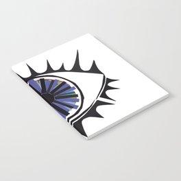 Blue Eye Warding Off Evil Notebook