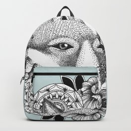 Fox and Flowers Backpack