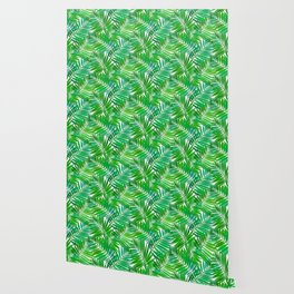 green leafs cool modern home trends Wallpaper