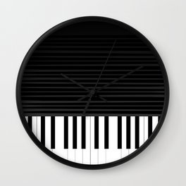 Piano vector art Wall Clock
