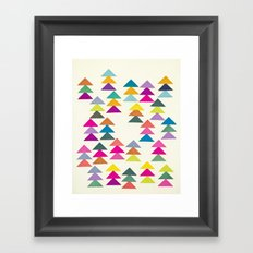 Lost in a Forest Framed Art Print