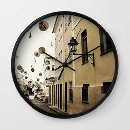 signs in the sky Wall Clock