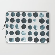Faded dots Laptop Sleeve