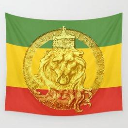 Conquering Lion of Judah Reggae Master Wall Tapestry