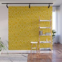 Yellow Modernist Wall Mural