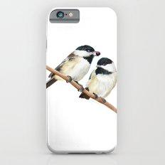 Black Capped Chickadees iPhone 6s Slim Case