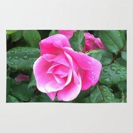 Pink Rose Rug