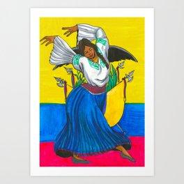 ¡Salve, Oh Patria! Art Print