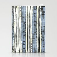 birch Stationery Cards featuring Birch by Sand Salt Moon